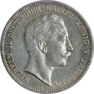5 Mark Preußen (Wilhelm II)